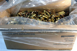 1,000 Rounds SS109BK 5.56x45mm NATO (.223) 62gr FMJ Penetrator - Made by Lake City Ammunition Plant in USA!
