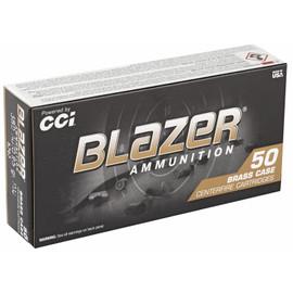 1000 Round Case CCI Blazer Brass .380 ACP 95gr FMJ in 50 round boxes