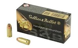 500 Rounds Sellier & Bellot 9mm 115gr FMJ Target/Range Ammo - Minimum 2