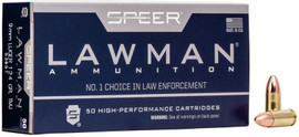 500 Rounds Speer Lawman .45 ACP 230 Grain TMJ (plated FMJ) - 53653