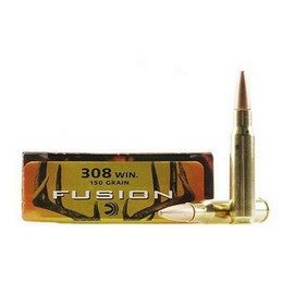 200 Rounds Federal Fusion F308FS1 - .308 Win 150gr Fusion Bullet