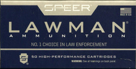 1000 Round Case Speer Lawman 53620 - 9mm Luger 147gr TMJ - Police Ammo for the Rest of Us!