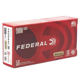 1000 Round Case Federal Target Champion Training 9mm 115gr FMJ - WM5199