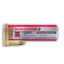 2000 Rounds Winchester Super-X 22LR 40gr copper plated lead round nose