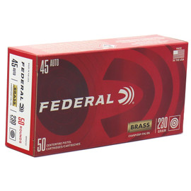 1000 Round Case Federal Premium Champion Brass Case .45 ACP 230 Grain FMJ - Made in USA!
