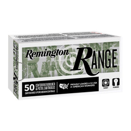 500 Round Case Remington 9mm 124gr FMJ Target Ammo in 50 round boxes - Minimum 2 Cases