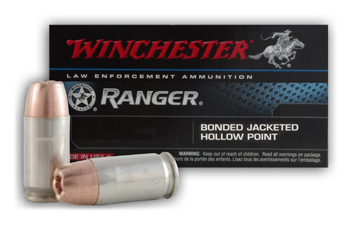 50 Rounds Winchester Ranger Bonded RA38B - 38 Special +P 130 gr Bonded Hollow Point in 50 round boxes - Not Restricted!