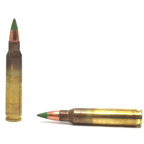 500 Rounds Winchester 5.56x45mm NATO Ammo 62 Grain M855 FMJ Green Tip in 125 Rounds Value Packs - Same as XM855