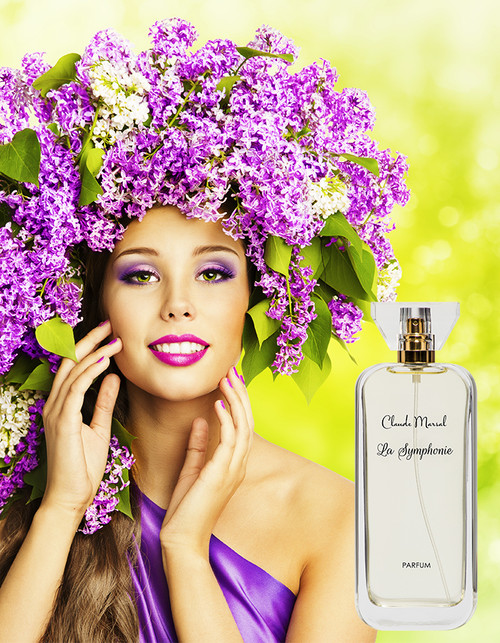 """La Symphonie"" is an elegant perfume for the soft, and delicate woman who at the same times strives to be passionate. ""La Symphonie"" belongs to the Floral and Fruity Fragrance Family.  TOP NOTES The perfume opens with Grapefruit and Quince. HEART NOTES It continues to the foundation of beautiful Jasmine and Hyacinth. BASE NOTES The last touch of the perfume is Amber, White Musk, Iris, and Virginia Cedar unfolding the entire soul of the perfume."