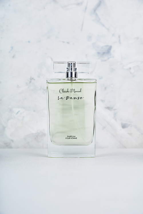 """Another of Claude Marsal's new perfume launch is """"La Danse"""" for men. The """"La Danse"""" fragrance creates an aura of authenticity and passion. """"La Danse"""" belongs to the fresh and woody fragrance family.  TOP NOTES The perfume opens with Bergamot, Ginger, and Lemon. HEART NOTES It continues to the foundation of delicate Violet Leaf, Basil, Spices and White Pepper. BASE NOTES The last touch of the perfume is Tonka Beans, Cedar, and Tahitian Vetiver."""