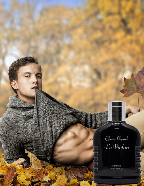 """Le Violon"" Aftershave is the perfect soothing for all skin types. The best treatment for the after-shave, it helps to hydrate and relieve dry skin. Skin will remain refreshed all day."