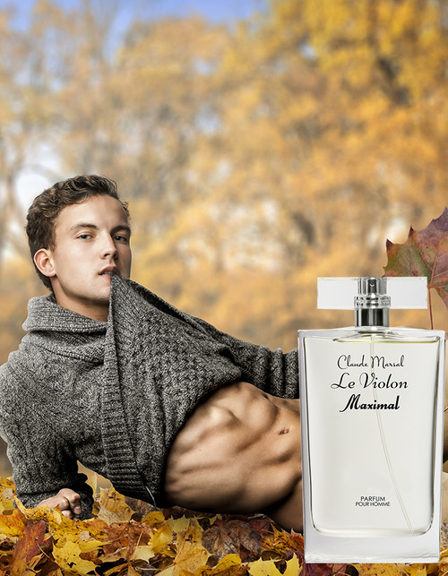 """Le Violon Maximal"" is a woody, aromatic fragrance for the man who defies convention. The perfume has a 36% oil fragrance concentration which gives you a potential Parfum that will last longer and intensifies your virility and strength."