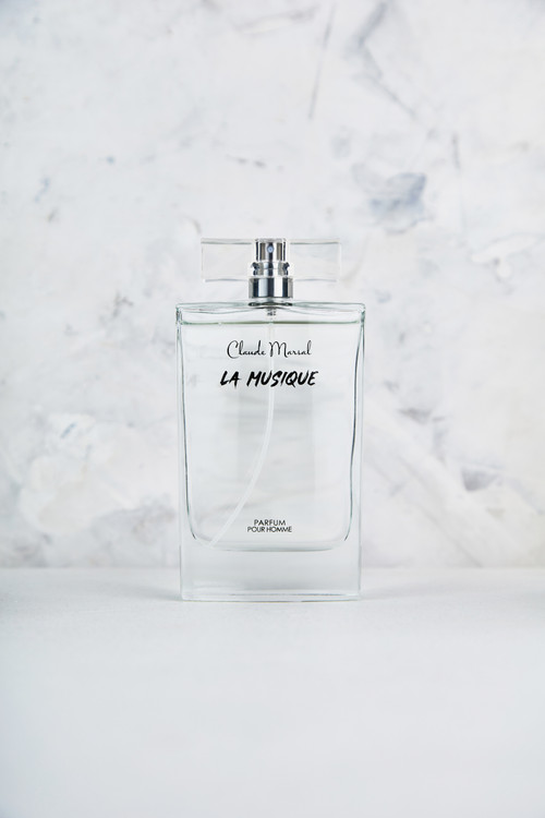 """THE CONCEPT """"La Musique"""" is an aromatic and fresh spicy fragrance for the man who is classic and daring. The deeply contradicted Perfume, infused with fresh spicy notes; offers an intense concentration of the fresh mint, and vibrant lavender. Vigorous and erotic.   THE DESIGN """"La Musique"""" belongs to the aromatic and fresh spicy family. Its overture is green and floral notes, followed by fresh spicy notes. Amber and Tonka beans notes are the grand finale that unfolds the entire body of the perfume.   THE NOTES TOP NOTES The perfume opens with Artemisia, Lavender, Mint, Bergamot, and Cardamom. HEART NOTES It continues to the foundation of Caraway, Orange Blossom, and Cinnamon. BASE NOTES The last touch of the perfume is Sandalwood, Tonka Beans, Amber, Vanilla, and Cedar."""
