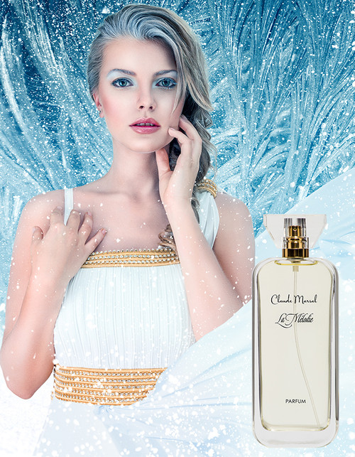 """La Melodie"" is a perfume centered on the idea of natural and pure beauty, freedom from conventions and the choice of once own vision of happiness. Using exquisite, natural ingredients, Claude Marsal elegantly intertwines the vibrant top notes of iris and orange blossoms with the deep base note of gourmand. Floral flirts with the strength to create the ultimate feminine fragrance. ""La Melodie"" belongs to the Sweet and Floral Fragrance Family."