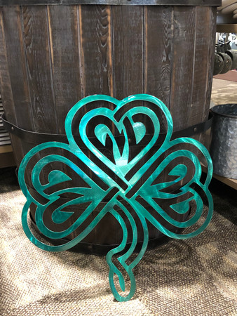 Weatherproof Celtic Shamrock Irish Four Leaf Clover St. Patrick's Day