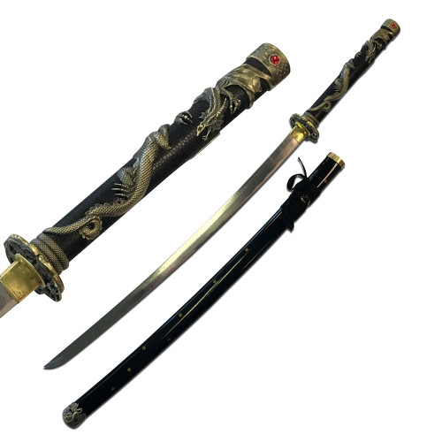 "42"" High Carbon Steel Dragon Sword"