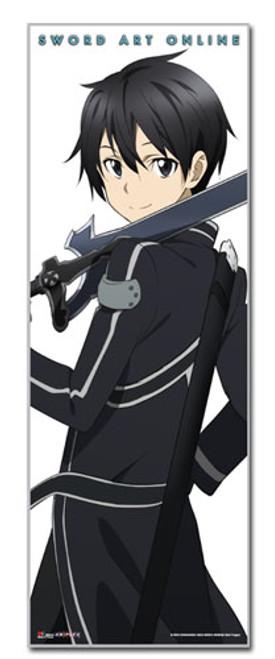 "Sword Art Online - Kirito Standing 67"" Wall Scroll"
