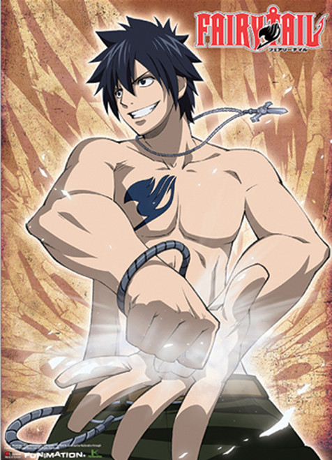 Fairy Tail - Gray Fighting Pose Wall Scroll