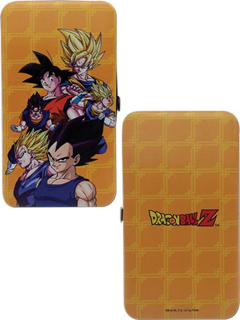 Dragon Ball Z Goku and Vegeta Fusion Hinge Wallet