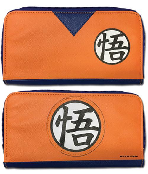 Dragon Ball Z Goku Dougi Zip Wallet