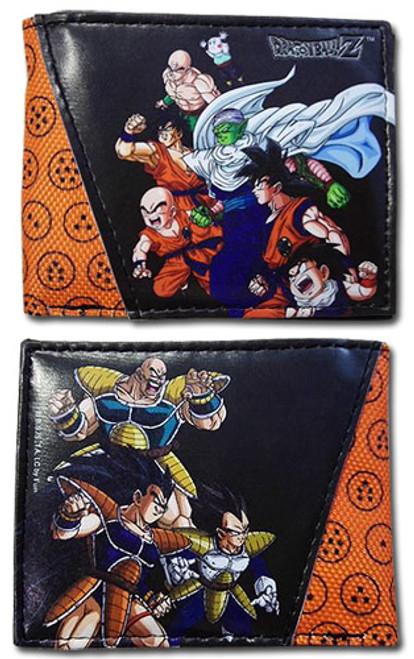 Dragon Ball Z Z Fighters Vs Saiyans Bi-Fold Wallet