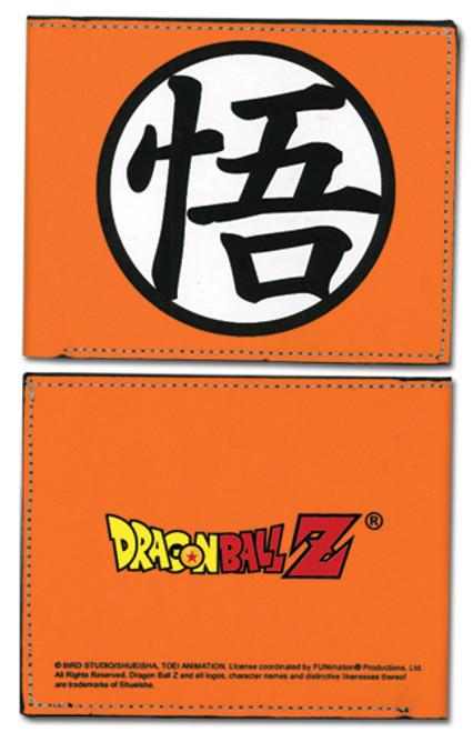Dragon Ball Z Orange Go Symbol Bi-Fold Wallet