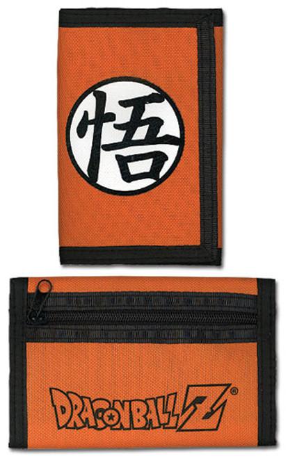 Dragon Ball Z Go Symbol Velcro Wallet