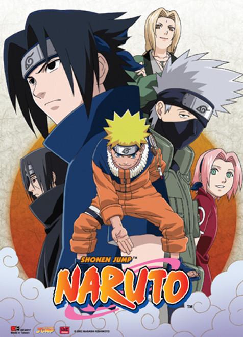 Naruto - Leaf Village Team 7 Wall Scroll