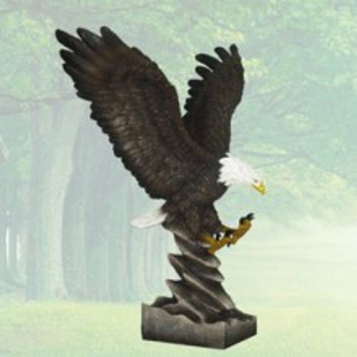 "Flying Eagle Figurine 16"" H"