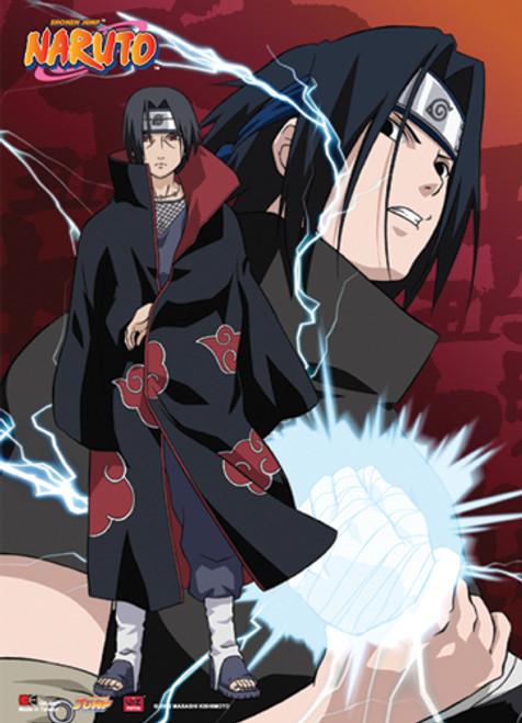 Naruto - Sasuke And Itachi Wall Scroll