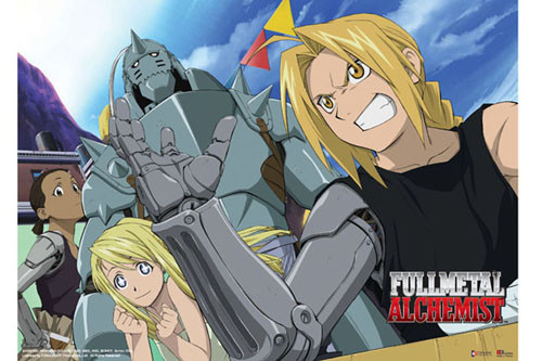 Fullmetal Alchemist - Edward Arm Wrestling Wall Scroll
