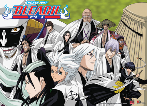 Bleach - Gotei 13 Captains Wall Scroll