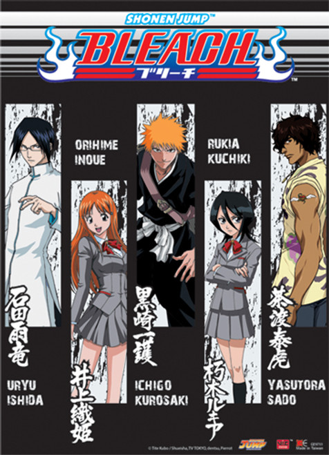 Bleach - Main Characters Wall Scroll