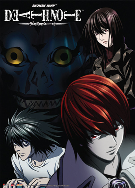 Death Note - Light And L Count Down Wall Scroll