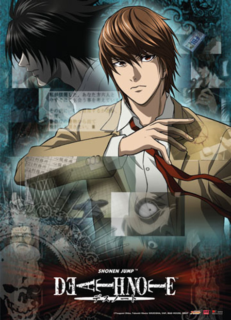 Death Note - Light And L Wall Scroll