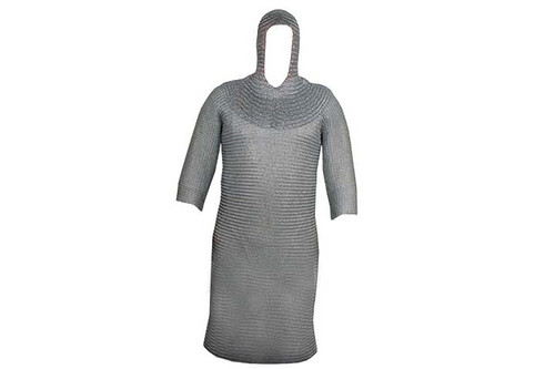 Full Body Chain Mail Suit 16 Guage Steel