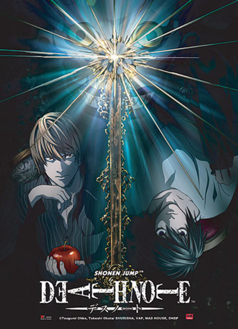 Death Note - L Vs Light With Ryuk Wall Scroll