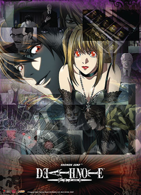 Death Note - Light And Misa Wall Scroll