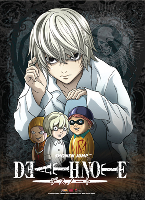 Death Note - Near With Puppets Wall Scroll
