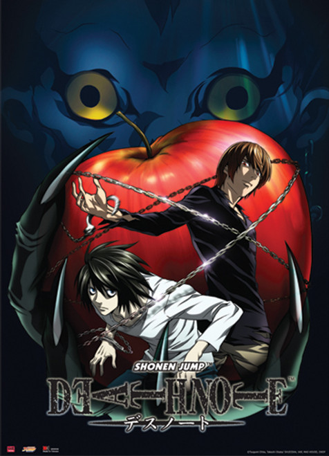 Death Note - Ryuk Holding An Apple Wall Scroll