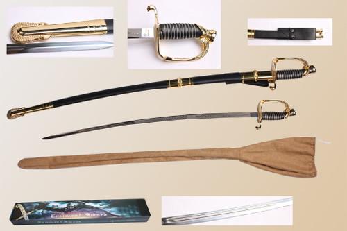 "Military Commander's Sword 37.5"""
