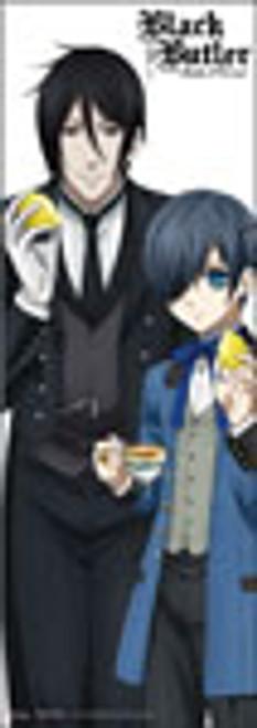 "Black Butler B.O.C. - Ciel And Sebastian Drinking Tea 67"" Wall Scroll"