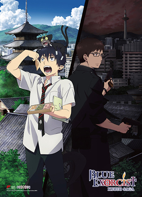 Blue Exorcist - Rin And Yukio Wall Scroll