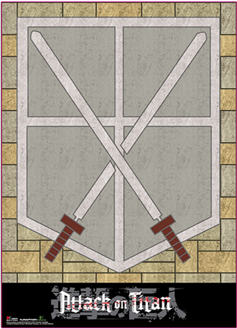 Attack On Titan - Cadets Corps Symbol Wall Scroll