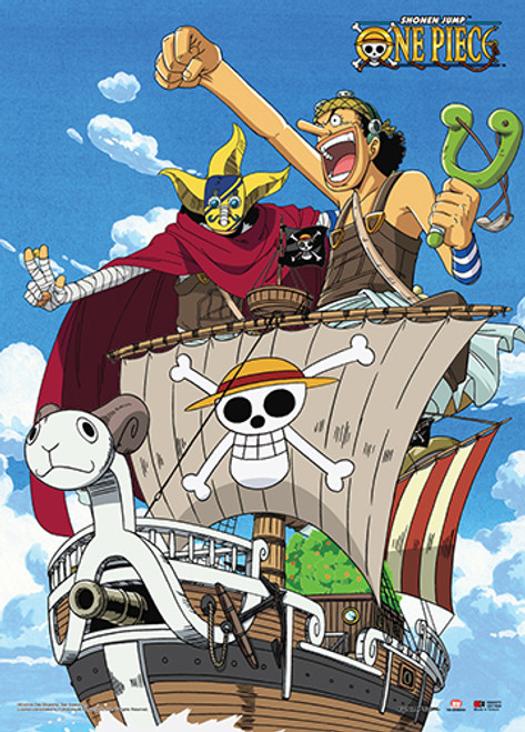 One Piece Usopp and His Alternate Costume SogeKing Wall Scroll