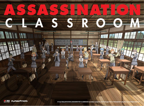 Assassination Classroom - KoroSensei In Class Key Art Wall Scroll