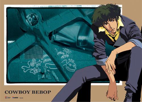 Cowboy Bebop - Spike And Swordfish 2 Wall Scroll