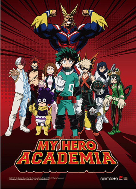 My Hero Academia - Class 1-A With All Might U.S.J Arc Wall Scroll