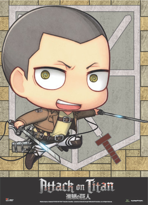 Attack On Titan - Chibi Conny Wall Scroll