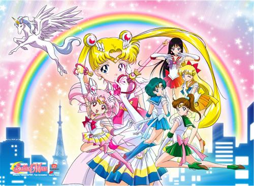 Sailor Moon Group 03 Wall Scroll